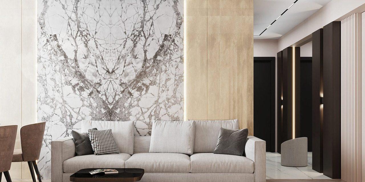 حوائط رخام ديكور